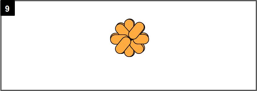 花ブレスレットの作り方