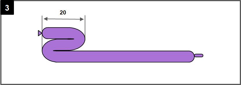 剣のバルーンアートの作り方