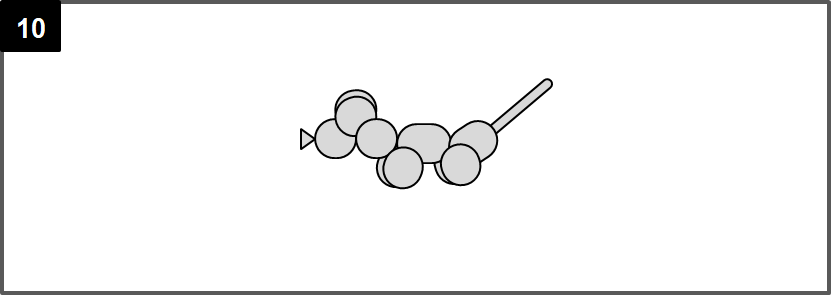 ねずみのバルーンアートの作り方