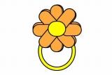花ブレスレットのバルーンアート